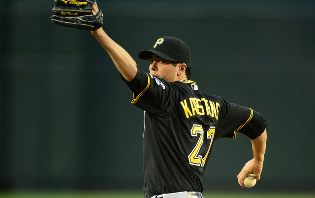 Jeff Karstens will miss at least 10-12 following surgery. (USATSI)