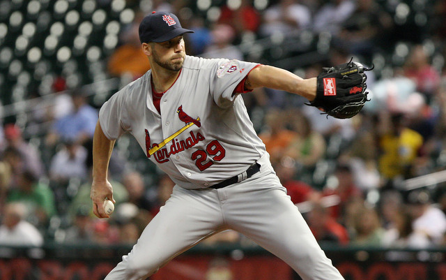 Chris Carpenter will take a big step toward returning to the Cardinals next week. (USATSI)
