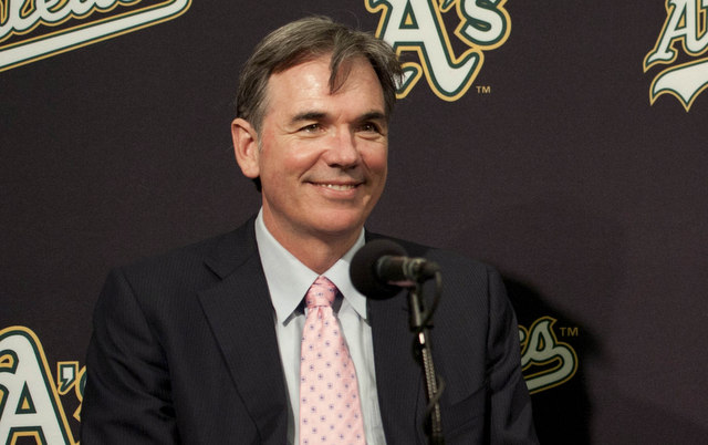 David Forst A39s promote Beane to president of baseball operations