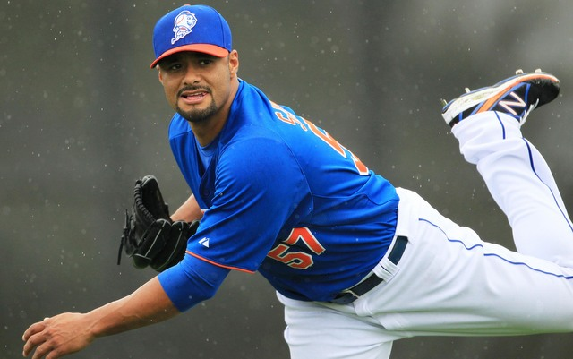 Johan Santana is drawing interest following his second major shoulder surgery.