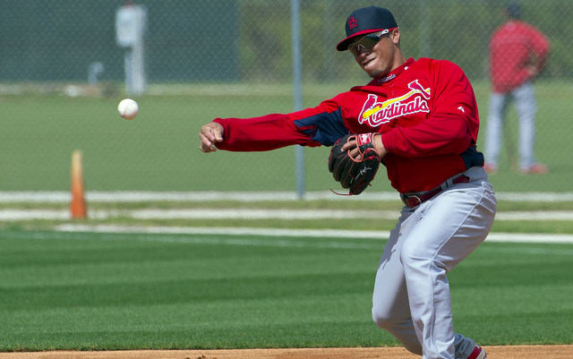 Kolten Wong should give the Cardinals a boost on the middle infield.