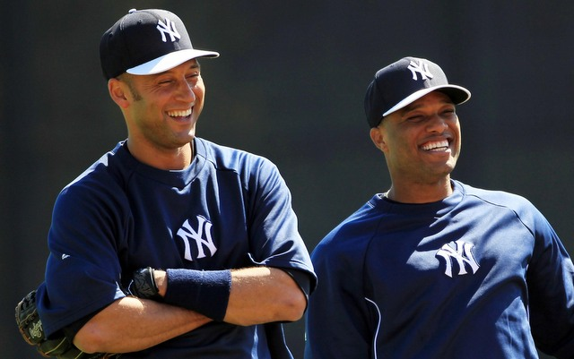 Derek Jeter wasn't surprised to see Robinson Cano leave for greener pastures.