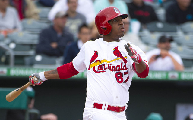 Oscar Taveras will miss the rest of the season due to nagging ankle injury.