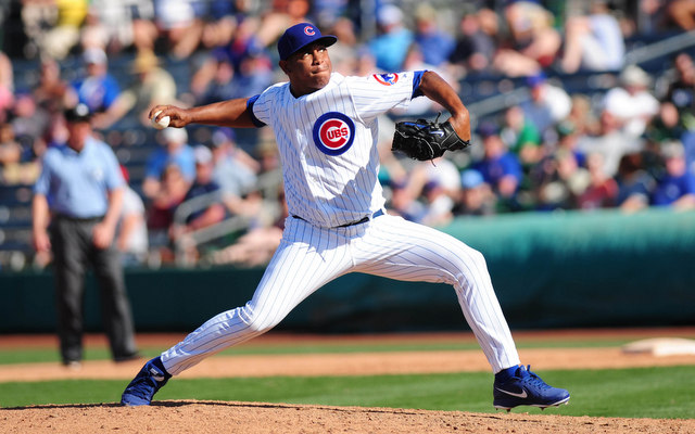 Carlos Marmol's tenure with the Cubs has come to an end. (USATSI)