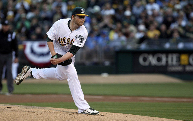 Brett Anderson will make the unfortunate move from spacious O.co Coliseum into Coors Field.
