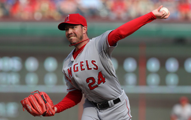 Sean Burnett's first season with the Angels has come to an injury-forced end.