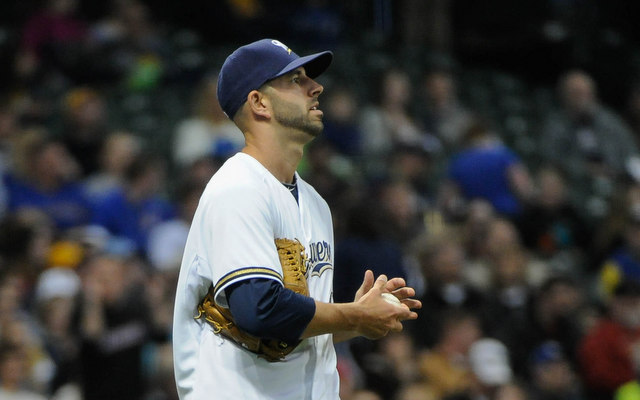 The Brewwers will be without Mike Fiers for more than two months. (USATSI)