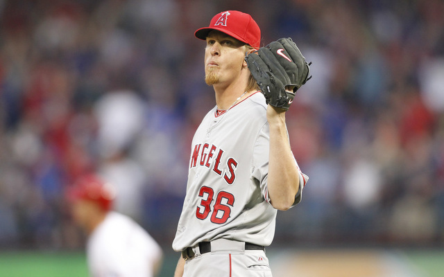 Jered Weaver (USATSI)