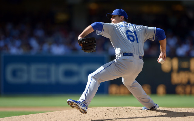 Josh Beckett will be sidelined for at least a month with a nerve issue. (USATSI)