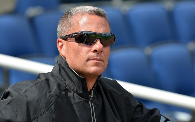 Royals GM Dayton Moore thinks Kauffman Stadium is the reason his team doesn't walk. (USATSI)