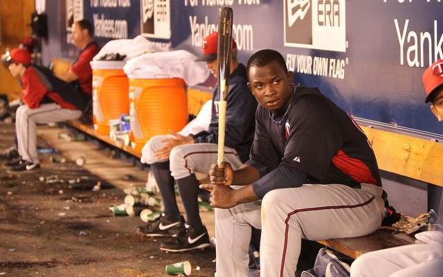 Twins prospect Miguel Sano is most at home with a bat in his hands.