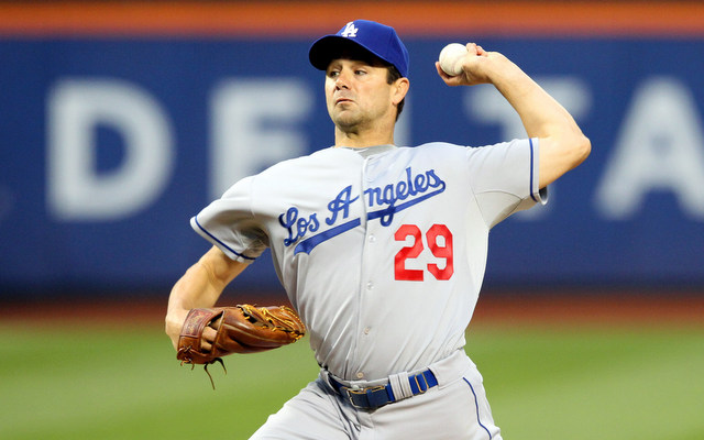 The Dodgers cut ties with veteran left-hander Ted Lilly.