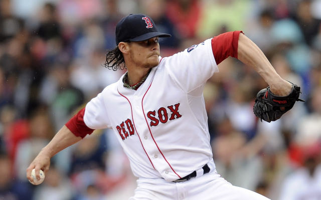 Clay Buchholz suffered an apparent injury on Saturday. (USATSI)
