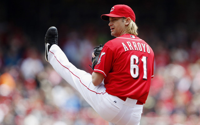 Bronson Arroyo is still waiting for some team to make an offer.