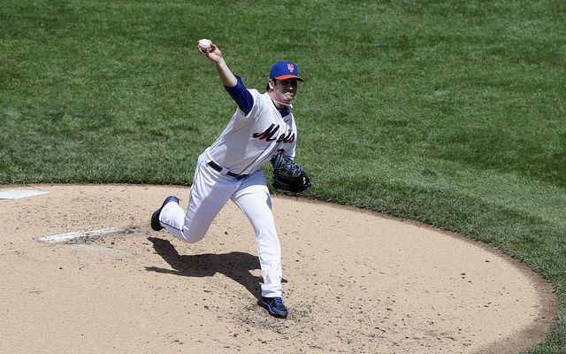 Matt Harvey's slider is the product of hard work and helpful hands. (USATSI)