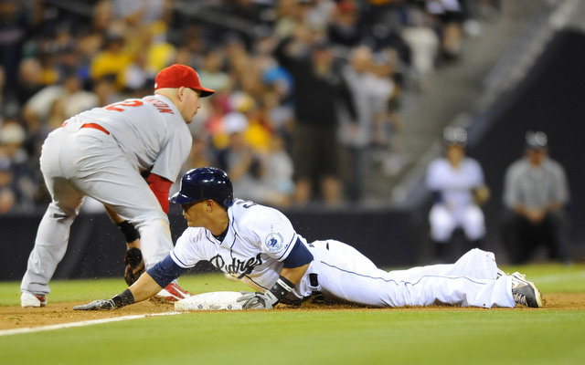 Everth Cabrera will have to take a break from stealing bases for a few weeks. (USATSI
