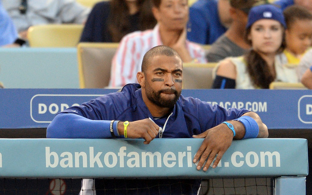 Matt Kemp has yet to be an impact player following shoulder surgery. (USATSI)