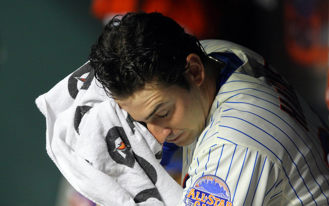 Matt Harvey appeared to suffer a leg injury on Saturday. (USATSI)