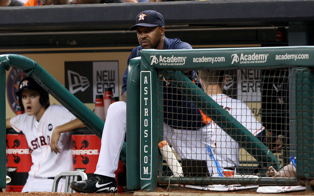 Astros skipper Bo Porter apologized for his team's bush league play. (USATSI)