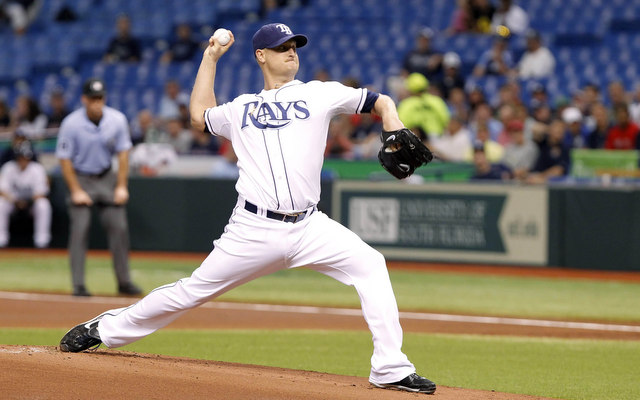 Alex Cobb escaped Saturday's line drive with no serious injury. (USATSI)