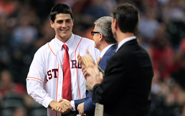 Pro ball has not been kind to 2013 top pick Mark Appel.