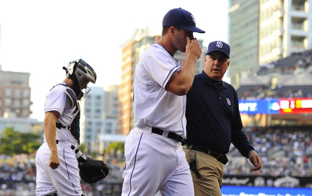 The Padres will be without Clayton Richard for the second half. (USATSI)