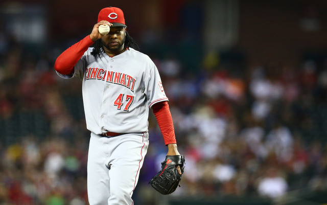 The Reds will get their opening day starter back next week.