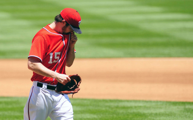 Losing Dan Haren to the DL is a net positive for the Nationals. (USATSI)