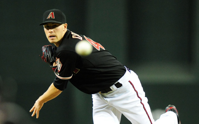 Patrick Corbin is 11-1 for the Diamondbacks and a first-time All-Star.