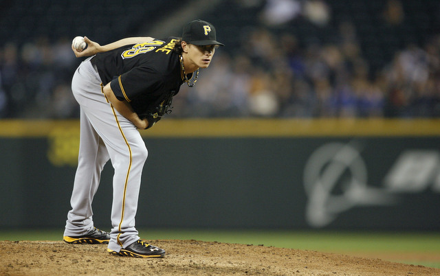 A sore back will keep Jeff Locke out of action for a few days.
