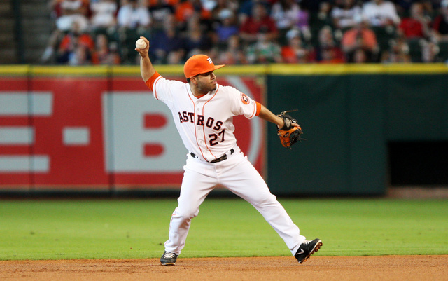 Jose Altuve will be with the Astros for at least another four years. (USATSI