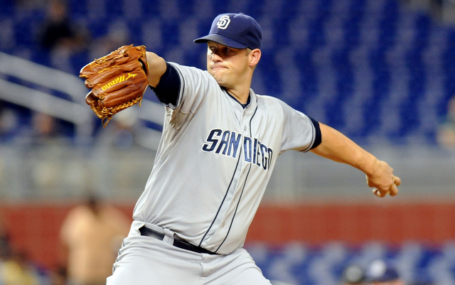 Lefty Eric Stults got a nice raise from the Padres on Monday.