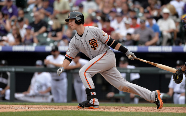 Buster Posey has been a one-man offensive army for the Giants of late. (USATSI)
