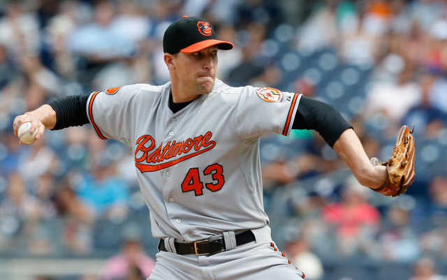 Orioles closer Jim Johnson is on the trade block.