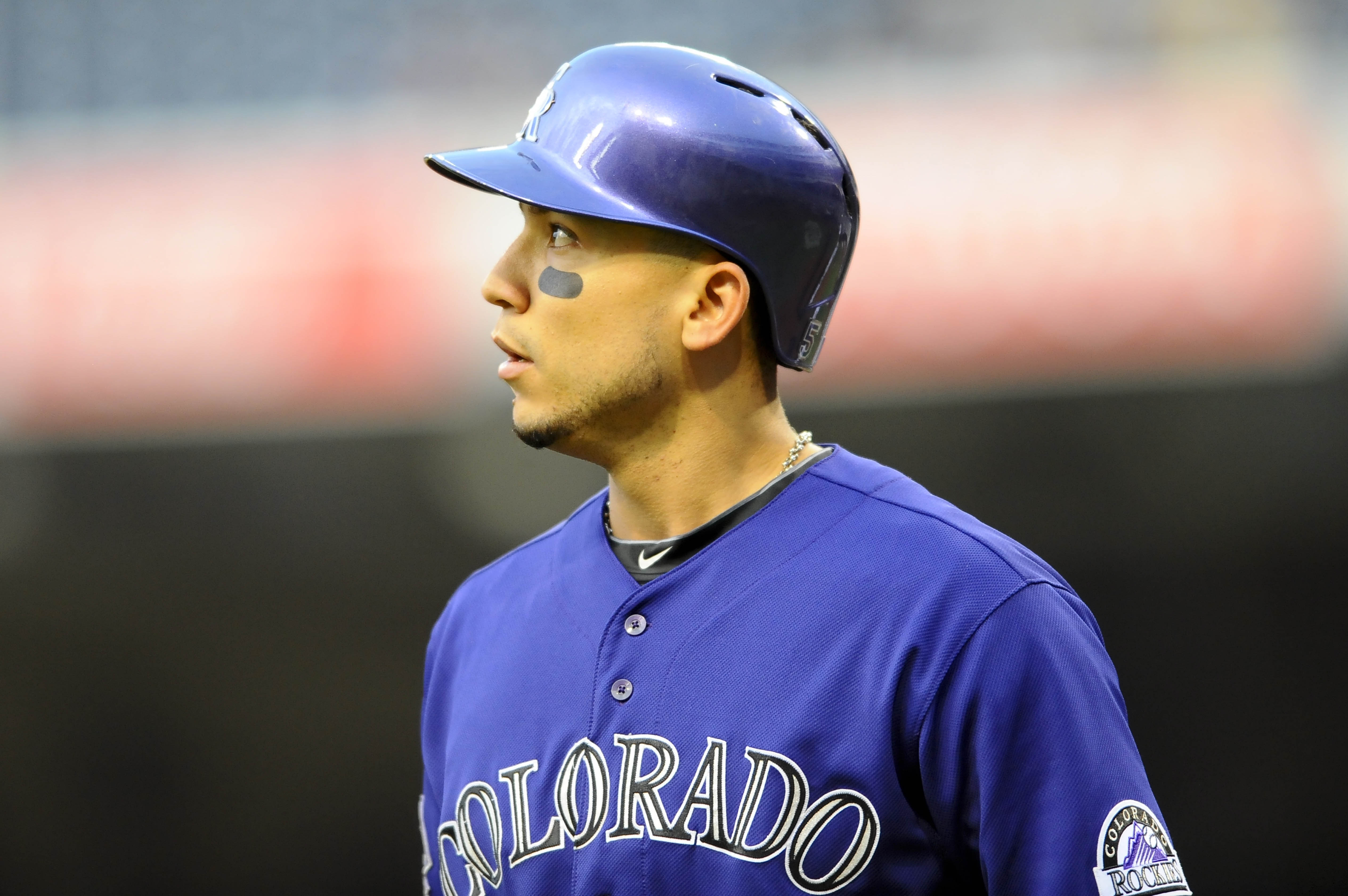 Carlos Gonzalez's finger injury may end his season.