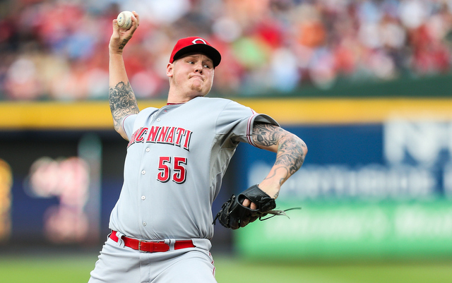 The Reds will be without Mat Latos for at least 10 days.