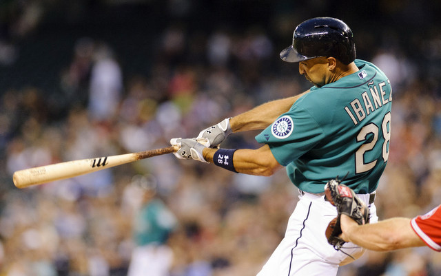 Raul Ibanez could make home run history for the Mariners this season.
