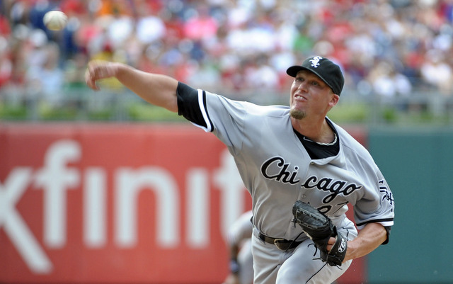 Matt Lindstrom will again serve as the veteran arm in the White Sox bullpen.