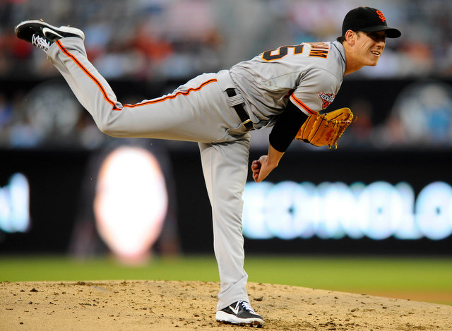 Tim Lincecum was unhittable in San Diego