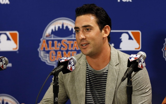 Matt Harvey seems to know all about being a star New York athlete.