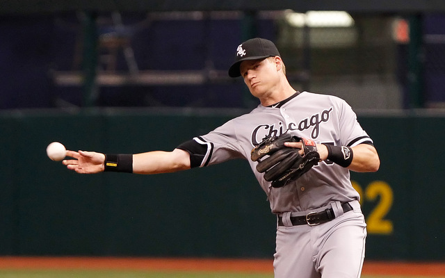 The White Sox have lost Gordon Beckham for what they hope is only a few days.