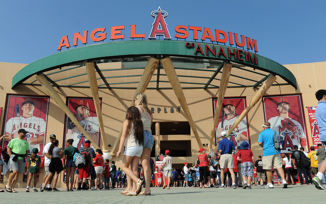 The Angels may soon be undergoing their third name change since 1996.