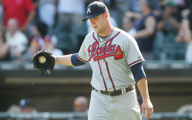 The Braves will be without Paul Maholm for at least two weeks.