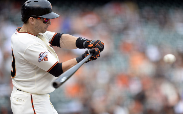 Contact machine Marco Scutaro probably hit very well in 0-2 counts, right? Guess again.