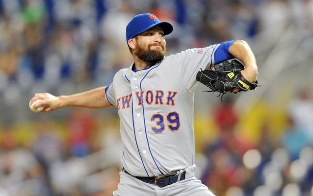 The Mets will be without their closer for at least a few weeks.