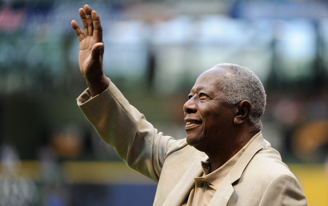 Hank Aaron is expected to be back to his normal routine within 6-8 weeks following a fall.