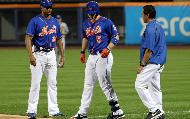 The Mets will be without their captain for at least the next two weeks.