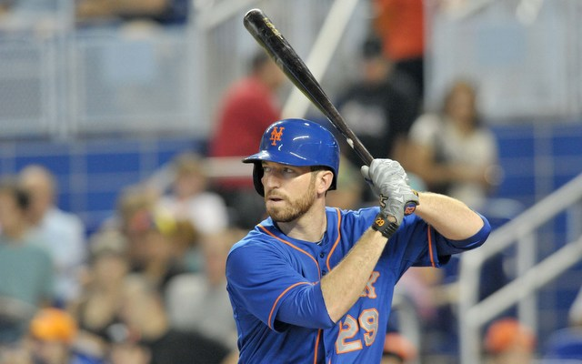 Ike Davis is on the trade block following a disappointing season.