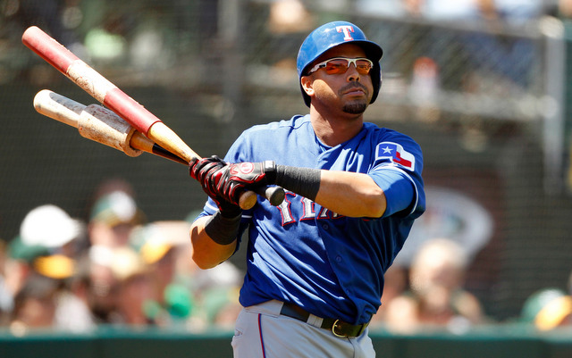 Nelson Cruz will net the Rangers a high draft pick if he signs elsewhere.