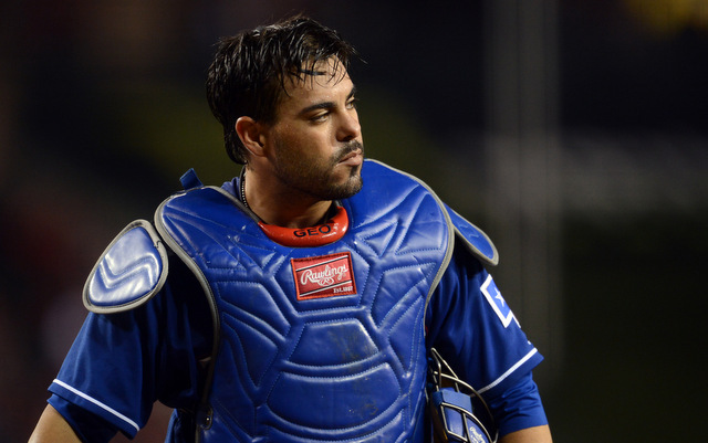 The Rangers will be without Geovany Soto for up to three months due to a knee injury.